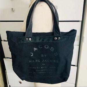 Marc Jacobs// canvas tote bag